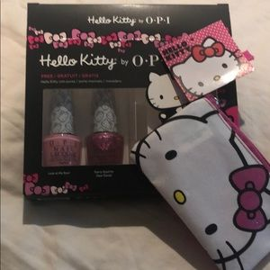 NWT Hello Kitty by OPI Gift Set